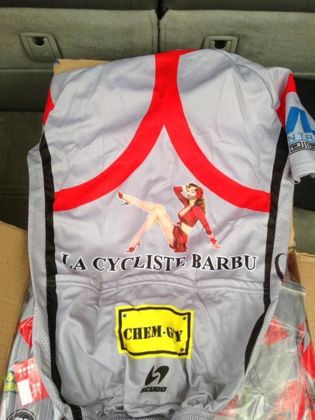 Inagural 2013 Team Jersey!