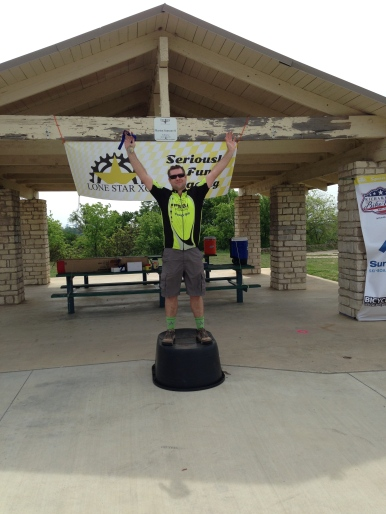 Dan Johnson, 1st Place Lone Star XC Sansom